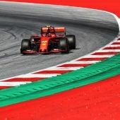 Leclerc, en el GP de Austria