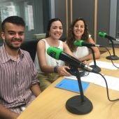 Becarios: Ana Bellón, Esther Valverde, Fernando Bautista