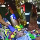 Una mujer da a luz en Palma, con la ayuda de la Policía local.