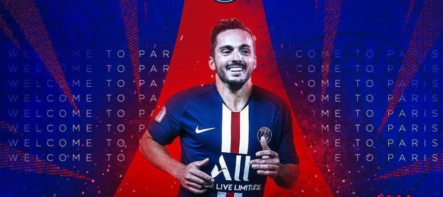 El PSG da la bienvenida a Pablo Sarabia