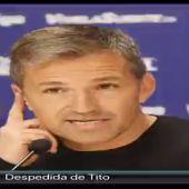 """Tito se despide de """"su"""" Levante y sus aficionados"""