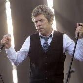 Iván Ferreiro durante uno de sus conciertos.