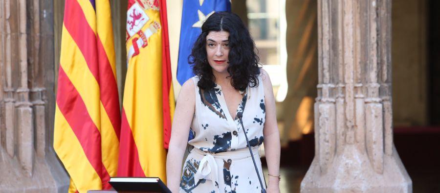 La consellera de Administraciones Públicas y Modernización, Isabel Castro.