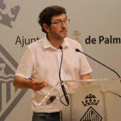 El portavoz del equipo de gobierno en el Ayuntamiento de Palma, Alberto Jarabo