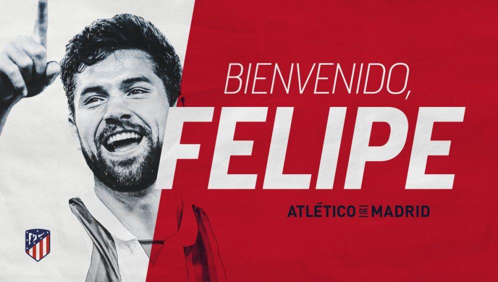 Felipe, nuevo jugador del Atlético de Madrid