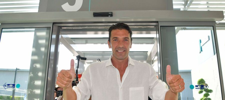 Buffon pasa el reconocimiento médico con la Juventus