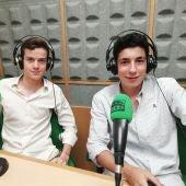 Nabile Essaouri y Bruno Martínez
