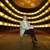 El actor Arturo Fernández en una imagen de archivo en el Teatro Principal de Zaragoza