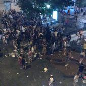 Vecinos protestan por el escándalo durante las fiestas del Orgullo en Chueca