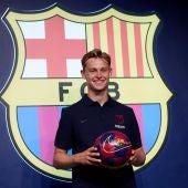 """De Jong sobre Messi: """" Ahora mi ídolo será mi compañero"""""""