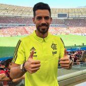 El central español del Flamengo, Pablo Marí.
