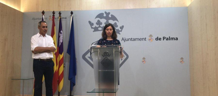 Neus Truyol propone trasladar el edificio de Defensa de Son Busquets