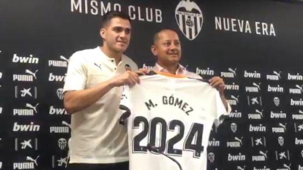 """Maxi Gómez: """"Hubo interés de la Premier, del Barcelona y del Atleti pero el Valencia fue mi primera opción"""""""