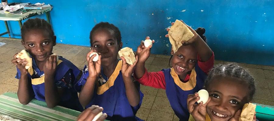Un proyecto solidario reduce en un 15% la desnutrición crónica en un grupo de niños etíopes