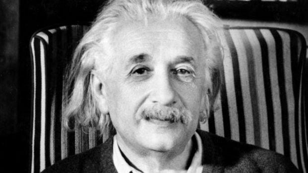 Historia de una frase atribuida a Einstein