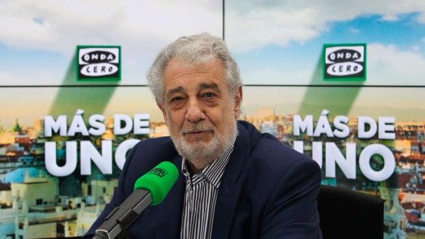 """Amón, sobre su entrevista a Plácido Domingo: """"Se ha convertido en una especie de víctima de un proceso moral y mediático"""""""