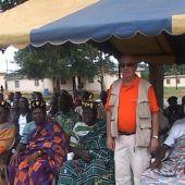 Luis Martín en Costa de Marfil