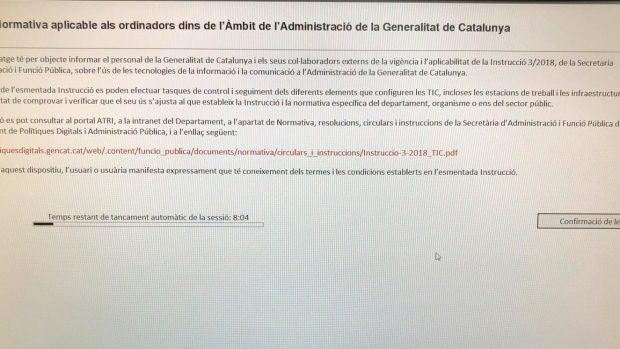 EL CGPJ investiga si la Generalitat accedió de forma indebida a los ordenadores de los jueces