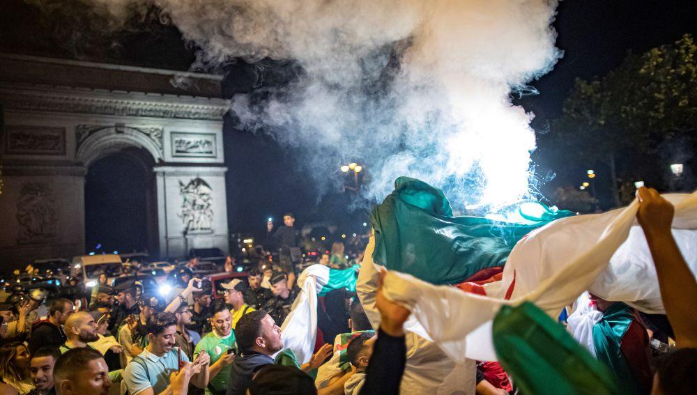 Detenidas 198 personas en Francia por los altercados tras la final de la Copa de África.