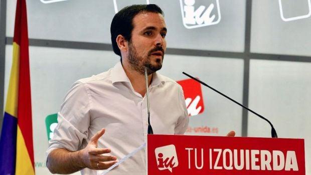 Garzón consultará a la militancia de Izquierda Unida su posición sobre la investidura