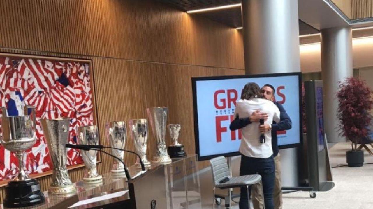 """Filipe Luis se despide del Atlético: """"Aquí he pasado los mejores años  y este equipo ha entrado en mi corazón"""""""