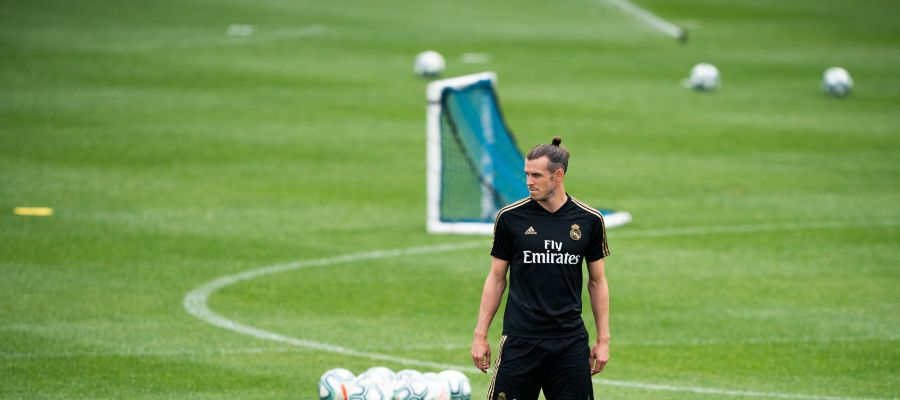 El atacante del Real Madrid, Gareth Bale.