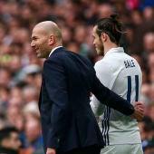 Zidane y Bale