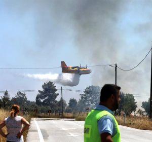Incendio en Portugal.