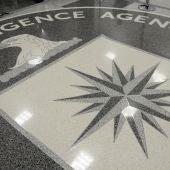 Escudo de la CIA en la sede de Langley, Virginia, Estados Unidos.