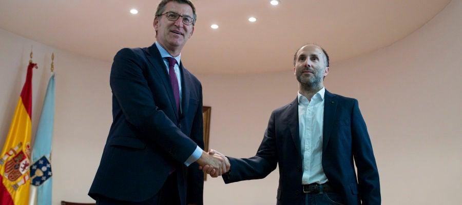 Reunión do Presidente da Xunta co Alcade de Ourense