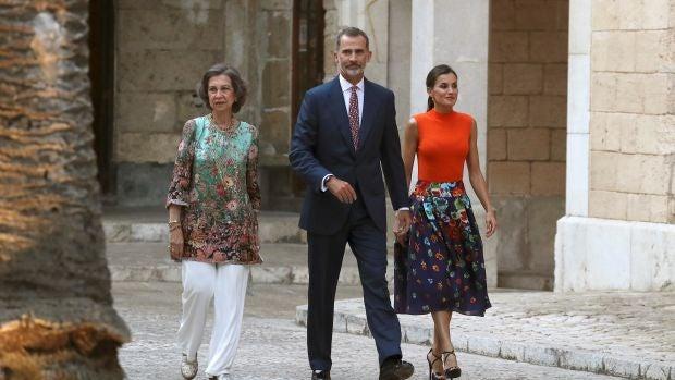 Los Reyes en Mallorca