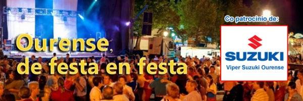 Ourense de festa en festa