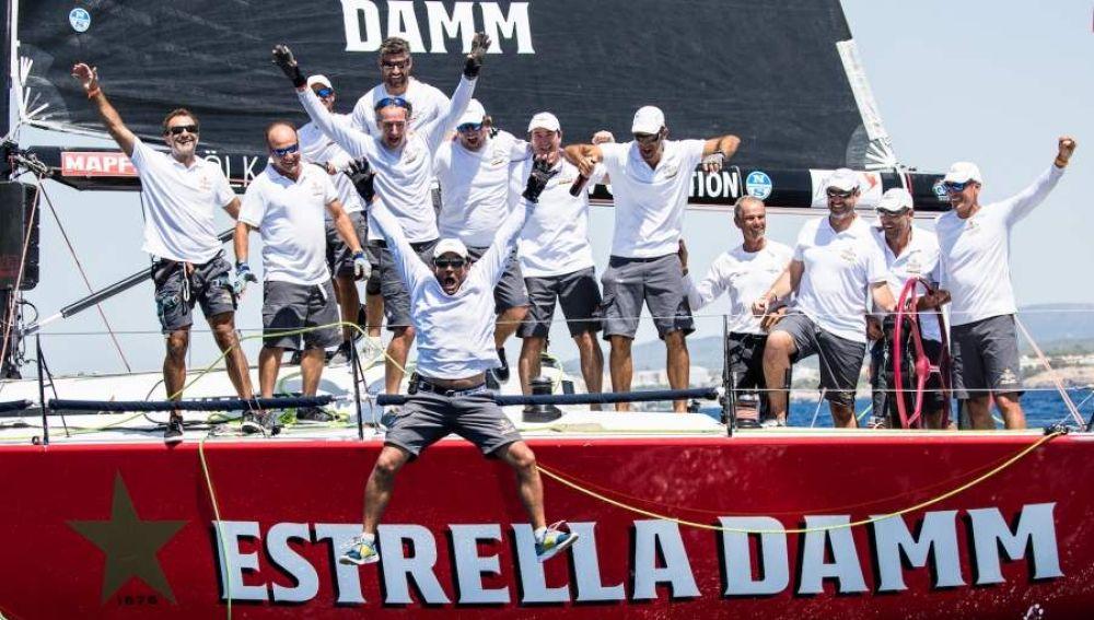 El Estrella Damm vuelve a coronarse en la Copa del Rey Mapfre de Vela