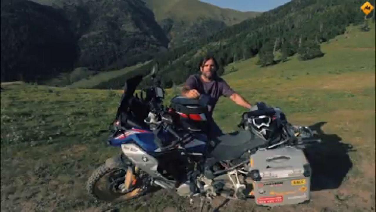 Charly Sinewan: Su Ruta En Moto Por Los Pirineos