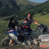 Charly Sinewan: España en moto
