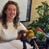 Sara Martínez, portavoz del equipo de gobierno