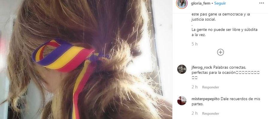 El mensaje de la vicepresidenta balear en su Instagram
