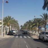 Avenida San Bartolomé de Tirajana de Arenales del Sol de Elche.
