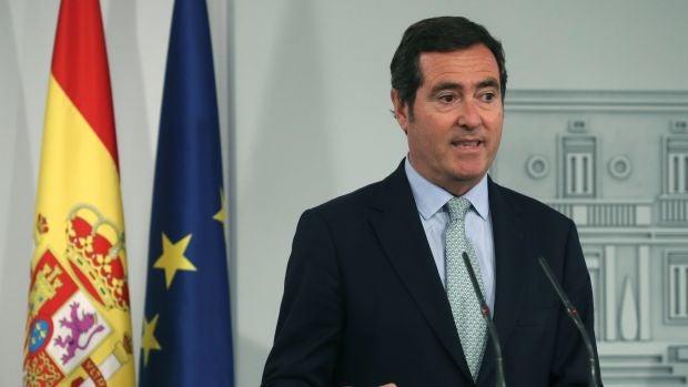 """Antonio Garamendi: """"Los partidos deben trabajar con sentido de Estado en esta desaceleración económica"""""""