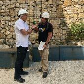 Fran Contreras y Jose Luis Arsuaga en Atapuerca