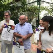 Jorge Grela, Francisco Vigueras y Esperanza González