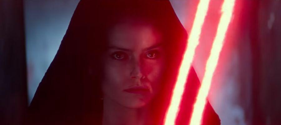 Rey se pasa al lado oscuro en el nuevo trailer de Star Wars