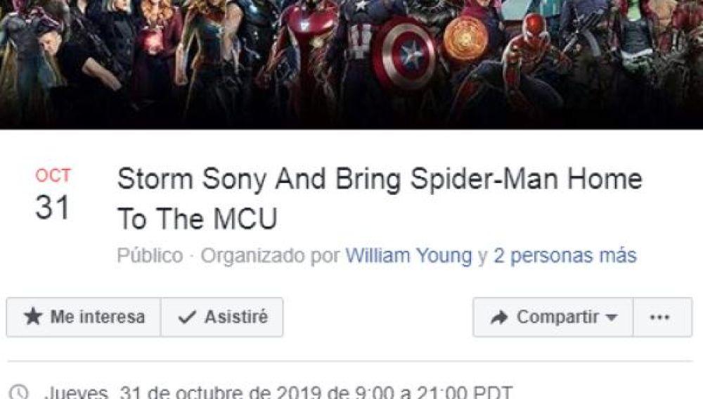 Asalto en masa a Sony