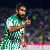 Nabil Fekir, en un partido con el Real Betis