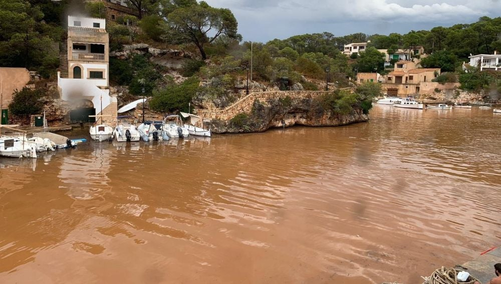 Santanyí, afectado por la tormenta