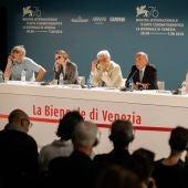 Rueda de prensa del jurado oficial del Festival de Venecia 2019