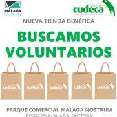 Cudeca necesita voluntarios
