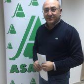 Florencio Rodríguez, secretario provincial de Asaja