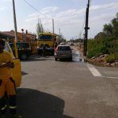 Santanyí ha sido uno de los municipios más afectados por la gota fría