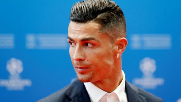 Cristiano Ronaldo, en el sorteo de la fase de grupos de la Champions League